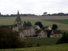 Eglise Saint-Rémi - Français:   Vue générale de Civray-sur-Esves