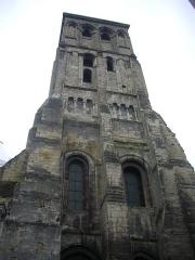 Ancienne abbaye de Saint-Martin - Français:   Tour Charlemagne, à Tours (Indre-et-Loire, France), vue du nord