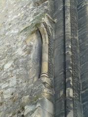 Ancienne abbaye de Saint-Martin - English:  Medieval Saint-Martin basilica, destroyed in the late XVIIIth century. Clock Tower (Tour de l'Horloge).
