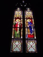 Cathédrale Saint-Louis -  Cathédrale Saint-Louis de Blois (Loir-et-Cher, France), saints Solenne et Louis