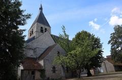 Eglise Notre-Dame -  Extérieur de l'église Notre-Dame de Bellegarde (45).