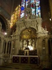 Eglise Notre-Dame de Recouvrance -  Église Notre-Dame-de-Recouvrance d'Orléans (Loiret, France), maître-autel