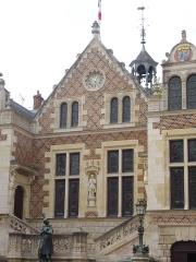 Hôtel Groslot, actuellement Hôtel de ville -  Hôtel Groslot, à Orléans (Loiret, France), façade orientale