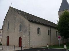 Eglise Saint-Jacques le Majeur - English:  Saint-Jacques-le-Majeur's church of Courcelles (Loiret, Centre, France).