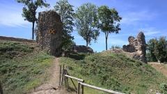Ruines du château fort - English:   Castle ruin of Montfort-sur-Risle
