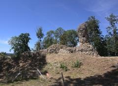 Ruines du château fort - Français:   Château fort de Montfort-sur-Risle