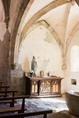Eglise Saint-Maurice, et croix du cimetière - Deutsch:  Zustand im Inneren, Kirche Saint-Maurice et croix du cimetière, Darnets