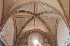 Eglise de l'Assomption de la Vierge - Français:   décor du XIVe première travée