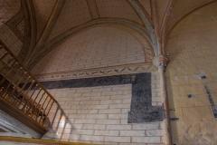 Eglise de l'Assomption de la Vierge - Français:   Litre de l\'église d\'Ajain