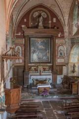 Eglise de l'Assomption de la Vierge - Français:   Chœur de l\'église d\'Ajain (23)