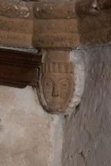 Eglise de l'Assomption de la Vierge - Français:   Décor sculpté de l\'église d\'Ajain