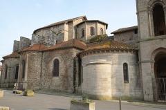 Église collégiale Saint-Léonard - Deutsch:  Collégiale de Saint-Léonard-de-Noblat in Saint-Léonard-de-Noblat im Département Haute-Vienne in der Region Limousin (Frankreich)