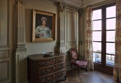 Immeuble (ancienne maison de l'Armateur, actuellement Musée de l'Armement naval) -  La Maison de l'armateur  au Havre: salon de lecture.
