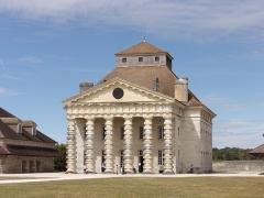 Ancienne saline royale, actuellement Fondation Claude-Nicolas Ledoux - Français:   Saline royale d\'Arc-et-Senans, maison du directeur