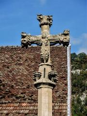 Croix de chemin - Français:   Face ouest de la croix