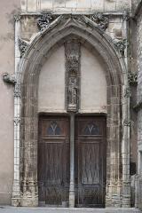 Eglise Notre-Dame - Français:   Transept sud de la basilique Notre-Dame de Gray (70). Portail.