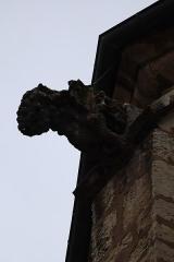 Eglise Notre-Dame -  Gargouille ornant le chevet de la basilique Notre-Dame de Gray (70).