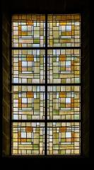 Eglise Saint-Symphorien - English:  Stained-glass window in the Saint Symphorian church in Gy, Haute-Saône, France