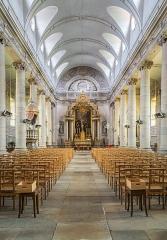 Eglise Saint-Symphorien - English:  Interior of the Saint Symphorian church in Gy, Haute-Saône, France