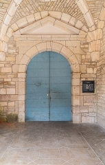 Eglise Saint-Symphorien - English:  Portal of the Saint Symphorian church in Gy, Haute-Saône, France