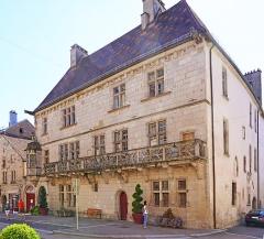 Maison dite du Cardinal Jouffroy - Français:   La maison du cardinal Jouffroy à Luxeuil-les-Bains.