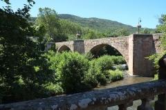 Pont - Deutsch:  Brücke in Alet-les-Bains (Frankreich)