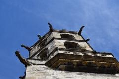 Eglise paroissiale Saint-Martin - Français:   Clocher de l\'église Saint-Martin à Limoux