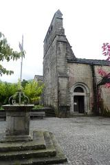 Eglise Saint-Martin -  Église Saint-Martin d'Aujac