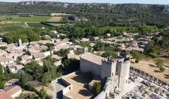 Eglise Saint-Bonnet - Français:   Église de Saint-Bonnet-du-Gard (Gard, France).