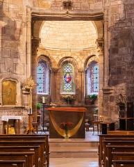 Eglise Saint-Martin - English:  Interior of the Saint Martin collegiate church in La Canourgue, Lozère, France