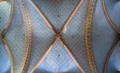 Eglise paroissiale Notre-Dame-de-la-Carce - English:  Vaulting in the Our Lady church in Marvejols, Lozère, France
