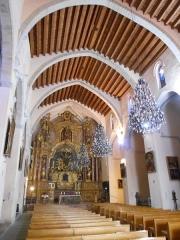Eglise Notre-Dame del Prat - Català:  Interior de l'església parroquial de Santa Maria del Prat, d'Argelers de la Marenda