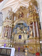 Eglise Notre-Dame del Prat - Català:  Retaule de l'altar major de l'església parroquial de Santa Maria del Prat, d'Argelers de la Marenda