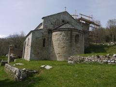 Ruines de l'ancienne église Saint-Martin - Français:   Église Saint-Martin de Corsavy.
