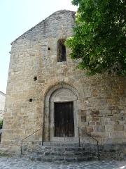 Eglise Saint-Félix - Català:   Façana occidental de Sant Feliu de Fillols