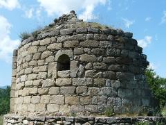 Vestiges de l'ancienne église Saint-Pierre - Català:  Absis de Sant Pere de Fillols