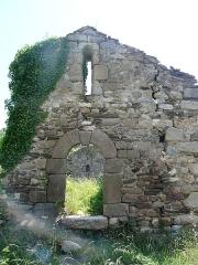 Vestiges de l'ancienne église Saint-Pierre - Català:  Porta oest de Sant Pere de Fillols