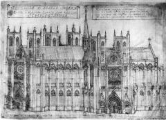 Ancienne abbaye Saint-Jean-Baptiste - Français:   Troisième église Saint Jean-Baptiste à Saint-Jean-d\'Angély
