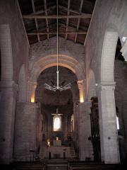 Eglise Notre-Dame -  Charente-Maritime Surgeres Eglise Notre-Dame Nef