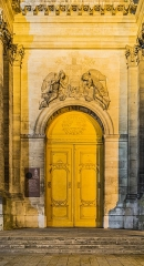 Cathédrale - English:  Portal of the cathedral of Our Lady of Nancy, Meurthe-et-Moselle, France