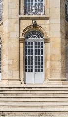 Hôtel de ville (ancien Evêché) - English:  Portal of hte town hall of Toul, Meurthe-et-Moselle, France