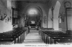 Eglise - Français:   de l\'église.