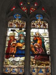 Eglise Saint-Hilaire -  Église de Longeville-en-Barrois, vitrail