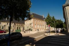 Ancienne abbaye Saint-Paul, sous-préfecture et palais de justice - English:  View on the Sous-préfecture de Verdun.
