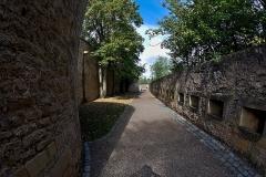 Vestiges de l'enceinte du Moyen-Age - English:  Part of the medieval fortifications of Metz.