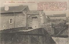 Vestiges du château -