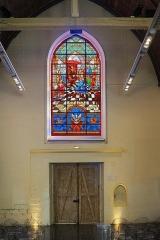 Hospice Ganthois -  Vitrail de la chapelle de l'Hospice Gantois (édifié en 1462), Lille Nord (département français).