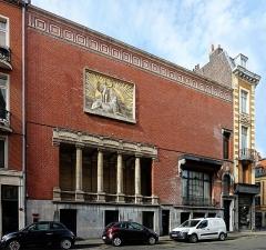 Immeuble, siège du Cercle Phylosophique et Culturel - Français:   Le temple maçonnique de la rue Thiers, à Lille.