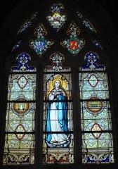 Chapelle du Crucifix -  Vitrail Notre-Dame, Chapelle du Crucifix, Fr-44-le Croisic.