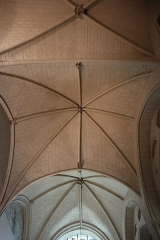Cathédrale Saint-Maurice -  Intérieur de la chapelle Notre-Dame-de-Pitié de la cathédrale Saint-Maurice d'Angers (49). Détail des voûtes.